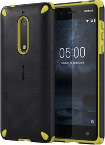 NOKIA Rugged Impact Case CC-502 für 5 Lemon Black (CC-502L)