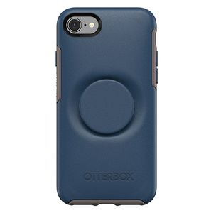 OTTERBOX OTTER + POP SYMMETRY APPLE IPHONE 8/7 - GO TO BLUE - BLUE ACCS (77-61656)
