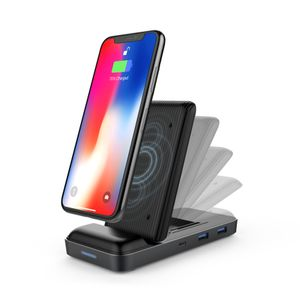 HYPER - Hyperdrive 7.5W Wireless Charger Stand + USB-C Hub (HD258B)