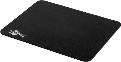 GOOBAY Rubberised and comfortable mousepad - guarantees fast and precise mouse movement (77603)