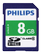 PHILIPS SDHC Card 8GB Class 10 UHS-I U1