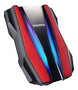 A-DATA 2TB Pro Ext. Hard Drive. Red
