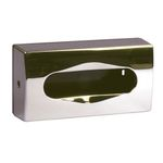 Dispenser,  neutral, 27x14cm, krom, plast, til ansigtsservietter
