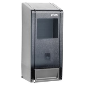 ABENA Dispenser,  Plum MP 2000, grå, plast, til bag-in-box,  1 moduler, til 700, 1000 og 1400 ml flasker (6884)