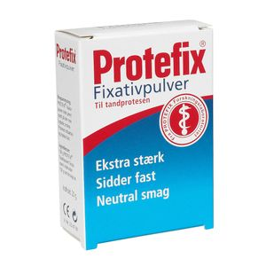 _ Fixativ pulver, Protefix, fiksering af tandprotese (21213201)