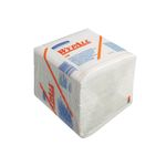 Industriaftørring,  Kimberly-Clark Wypall L40, 1-lags, 33x31, 7cm,  hvid, nonwoven