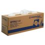 Abena Industriaftørring, Kimberly-Clark Wypall L40, 1-lags, 25x42cm, hvid, nonwoven