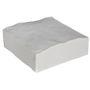 KD Økonomiserviet, 1-lags, 1/4 fold, 32x33cm, hvid, papir