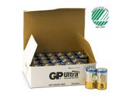 GP BATTERI ULTRA + C/LR14 - 24 stk Bulk (151165)