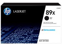 HP 89X Black LaserJet Toner Cartridge (CF289X)