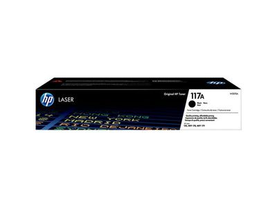 HP 117A Black Original Laser Toner Cartridge (W2070A)