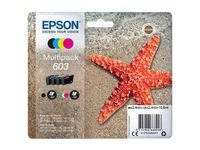 EPSON Multipack 4-colours 603 Ink (C13T03U64010)