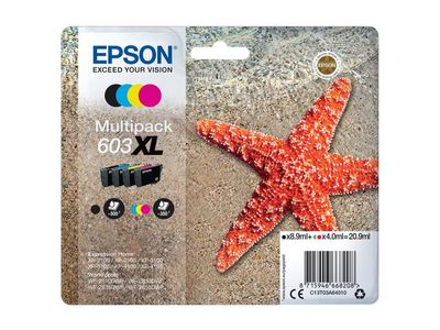 EPSON Multipack 4-colours 603XL Ink (C13T03A64010)