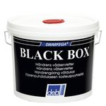 Renseserviet,  Deb Black Box, hvid, med parfume, dispenser box, 150 stk., engangs