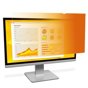 "3M GPF19.0 Gold Privacy Filter Skjerm Filter for laptop og desktop monitor (wide) 19,0"" (GPF19.0)"