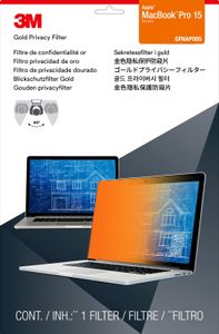 "3M GOLD PRIVACY FILTER MACBOOK PRO 15.4"" WIDE 16:10 RETINA (GPFMR15)"