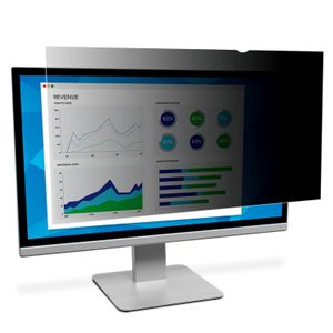 "3M databeskyttelsesfilter for 28"""" Widescreen Monitor - Privacy-filter for skærm - 28"""" bred - sort (7100143039)"