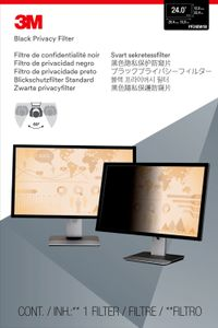 "3M Privacy filter for desktop 24"""" widescreen (51, 89x32, 45) (7100026029)"