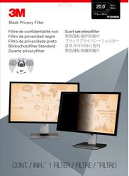 3M PF20.0W9 PRIVACY FILTER BLACK FOR 20.0IN / 50.8 CM / 16:9 ACCS (7000021449)