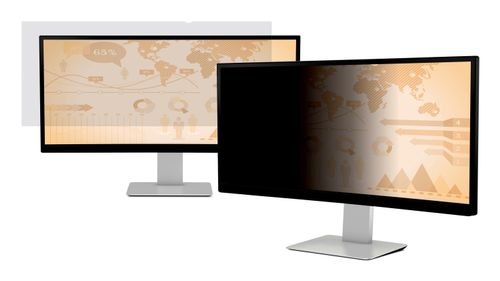 "3M databeskyttelsesfilter for 38"""" Widescreen Monitor - Privacy-filter for skærm - 38"""" - sort (7100158935)"