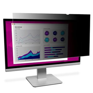3M High Privacy Filter for 24.0i Widescreen Monitor 16:9 aspect ratio (HC240W9B)