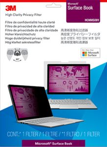 3M HCNMS001 Privacy Filter High Clarity f Microsoft Surface (7100143045)