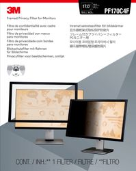 """3M Privacy filter framed lightweight 15"""""""" to 18"""""""" (7000059510)"""