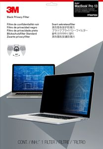 "3M PRIVACY FILTER BLACK MACBOOK PRO 13"" WIDE 16:10 RETINA (PFMR13)"