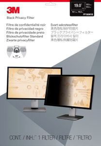 "3M Privacy filter for desktop 19,0"""" widescreen (98044044836)"