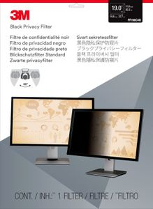 3M PF19 PRIVACY FILTER BLACK FOR 19,0IN / 48,3 CM / 5:4       IN ACCS (98-0440-5406-6)