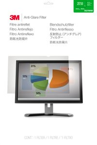 "3M Anti-Glare Filter 27.0"" Widesc (AG270W9B)"