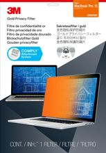 3M Gold Privacy Filter for Apple MacBook Pro 15inch 2016 model or newer (GFNAP007)