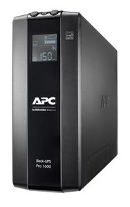 APC BACK UPS PRO BR 1600VA 8 OUTLETS AVR LCD INTERFACE BACK U (BR1600MI)