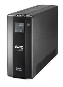 APC BACK UPS PRO BR 1300VA 8 OUTLETS AVR LCD INTERFACE BACK U (BR1300MI)