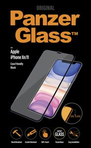 PanzerGlass PanzerGlass Screen Protection Sort ramme iPhone 11 (2665)