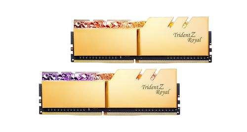 G.SKILL Trident Z ROYAL Gold 128GB (8KIT) DDR4 3200MHz CL14 (F4-3200C14Q2-128GTRG)