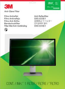 3M Anti-Glare Filter for 20inch Widescreen Monitor (AG200W9B)