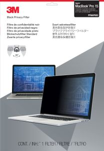 3M Privacy Filter for Apple MacBook Pro 15inch with Retina Display. Not compatible with 2016 macbooks (PFNAP003)