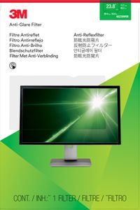 "3M Anti-Glare Filter 23.8"" Widesc (AG238W9B)"