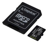 KINGSTON CanvSelect Plus 128GB microSDXC,  100R + ADP (SDCS2/128GB)