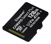 KINGSTON CanvSelect Plus 128GB microSDXC,  100R w/o ADP (SDCS2/128GBSP)