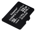 KINGSTON 32GB MICROSDHC CANVAS SELECT 100R A1 C10 SP W/O ADAPTER EXT