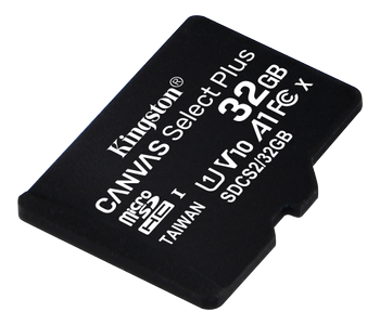 KINGSTON CanvSelect Plus 32GB microSDHC,  100R w/o ADP (SDCS2/32GBSP)