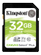 KINGSTON 32GB SDHC 100R C10 UHS-I U1 V10 (SDS2/32GB)