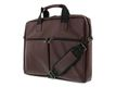 DELTACO Carrying case 15.6 Polyurethane leather Brown