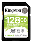 KINGSTON CanvSelect Plus 128GB SDXC, 100R (SDS2/128GB)