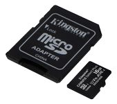 KINGSTON 16GB micSDHC 100R A1 C10 ADP (SDCS2/16GB-3P1A)
