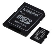 KINGSTON CanvSelect Plus 32GB microSDHC,  2-pack + 1 ADP (SDCS2/32GB-2P1A)