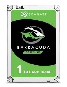 SEAGATE Internal HDD Seagate BarraCuda 3.5'' 1TB SATA3 7200RPM 64MB (ST1000DM010)