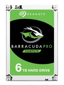 SEAGATE Internal HDD Seagate BarraCuda Pro 3.5'' 6TB SATA3 7200RPM 128MB (ST6000DM004)